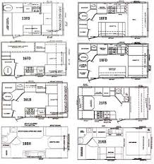 Outback Campers Floor Plans Classic Cruiser Travel Trailer Floorplans Small Picture Click
