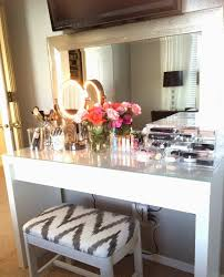 Ikea Vanity Table With Mirror And Bench Beautiful Vanity Apartment I Do Have Pinterest Vanities