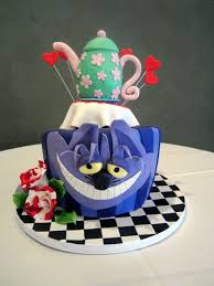 alice in wonderland bridal shower cake this fairy tale life