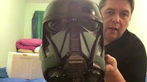 nissan rogue one helmet star wars rogue one death trooper helmet by anovos unboxing and