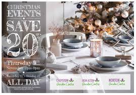 christmas brochure chepstow garden centre