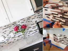 how to install a glass tile backsplash in the kitchen marvelous how to install a glass tile backsplash in the kitchen pics