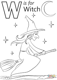 download coloring pages witch coloring witch coloring