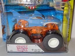 wheels monster jam trucks buy wheels monster jam shark wreak 21 edge glow roll cage