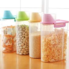 clear plastic kitchen canisters shop 4 color kitchen plastic storage canisters large