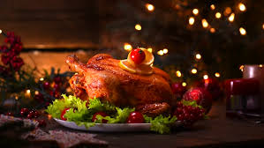 turkey dinner roasted chicken winter table