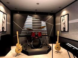 studio decoration music room design boby date