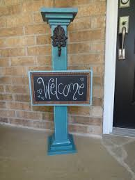 Diy Home Decor Signs by Ipincomplish Welcome Post And Sign So Adorable Dream Home