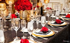 Black Gold Wedding Decorations Gold Black And Red Wedding Tbrb Info
