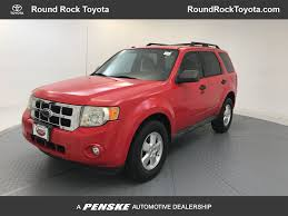 ford escape 2009 used ford escape xlt at round rock toyota serving austin