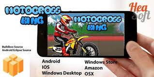 motocross race game motocross king android buildbox game template racing game