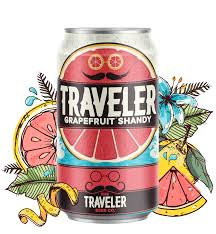 travelers beer images Traveler grapefruit shandy traveler beer company png