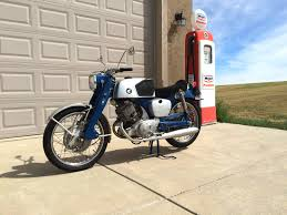 1961 honda super sport benly cb92 125cc w 4 speed transmission