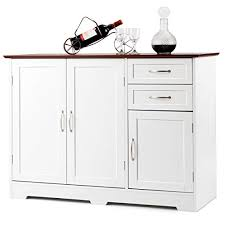 white storage cabinet for kitchen white sideboards servers buffet tables