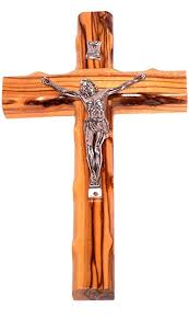 crucifixes for sale olive wood cross with crucifix 6 25 h home kitchen
