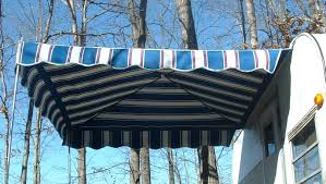Awnings For Trailers Vintage Awnings Attract Attention With A Trailer Vendor Awning