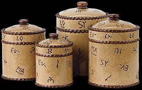 western kitchen canisters western canister set