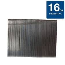 Coil Nails Home Depot by Grip Rite 1 3 4 In X 16 Gauge Straight Finish Nails 4 000 Per
