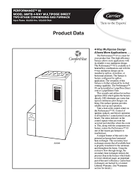 carrier 58mtb product data