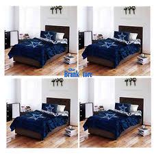 Dallas Cowboys Twin Comforter Sports Comforters And Bedding Set Ebay