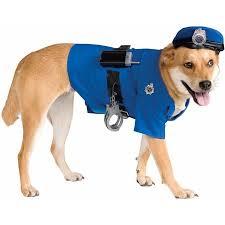 Halloween Pet Costume Police Halloween Pet Costume Multiple Sizes Walmart