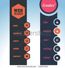 website menu design web menu vectors free vector 5 843 free vector for