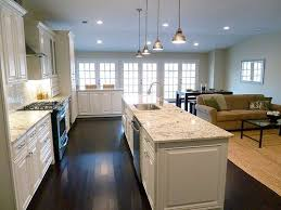 renovation 2 family room and kitchen open floor plan