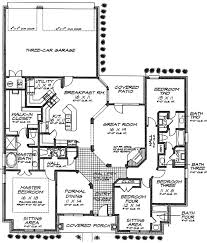 Split Two Bedroom Layout 48339fm European 1st Floor Master Suite Butler Walk In Pantry