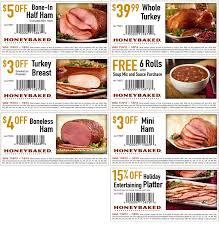 honey baked ham turkey nutrition facts deby