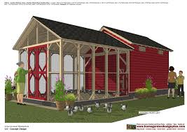 home garden plans cb210 combo chicken coop garden shed plans