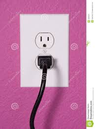 a 110 volt wall outlet stock images image 3968624