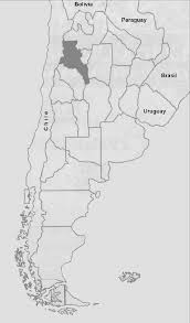 map of province location of province of catamarca within fig 4 map of