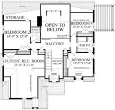 cottage style house plan 5 beds 4 baths 2673 sq ft plan 137 289
