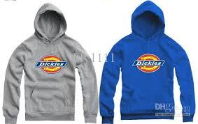 2017 retail 70 150cm kids hoodie dickies logo printed hoodie