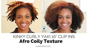 16 Inches Hair Extensions by Kinkycurlyyaki U0027s Afro Coily Clip Ins Install 16 Inches Youtube
