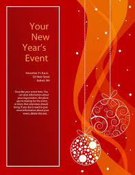 free holiday flyer templates word pacq co