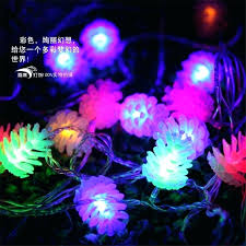 philips pine cone string lights pine cone string lights led holiday wedding party curtain decoration