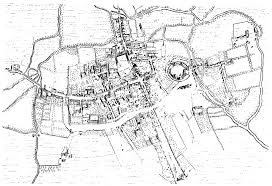early modern oxford british history online agas s map of oxford