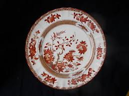 spode indian tree dinner plate diameter 10 1 8 inches ebay