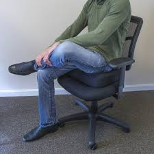Desk Chair Cushion Supportech Adjustable Memory Foam Seat Cushion Posturite