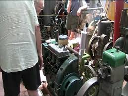3 cylinder lister diesel air cooled youtube