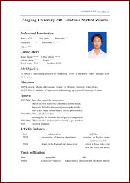 Best Resume For Students by How To Write A Resume For Student Samples Of Resumes
