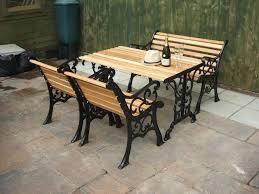cast iron outdoor table patio garden iron outdoor furniture cast iron patio furniture