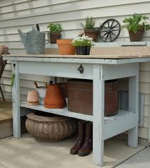 outdoor potting table liberty interior attractive pictures with