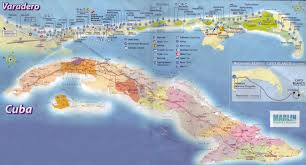 Map Cuba Destination Wedding And Hotel Review In Varadero Cuba