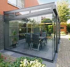 Outdoor Enclosed Rooms - glass patio rooms from weinor glasoase patios glass and
