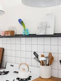 Square Tile Backsplash Get Inspired With Home Design And - Square tile backsplash