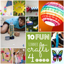 summer crafts children ye craft ideas