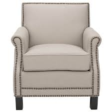 Beige Accent Chair Shop Safavieh Mercer Beige Accent Chair At Lowes
