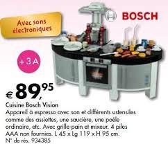 cuisine bosch jouet colruyt promotion cuisine bosch vision theo klein cuisines